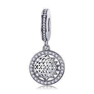 Talisman din argint Fancy Geometric Charm
