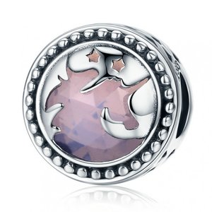 Talisman din argint Fantasy Unicorn