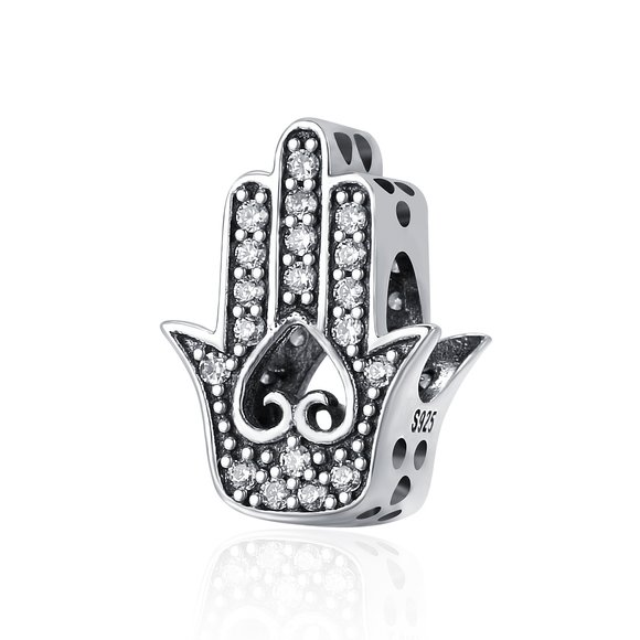 Talisman din argint Fatima Hand