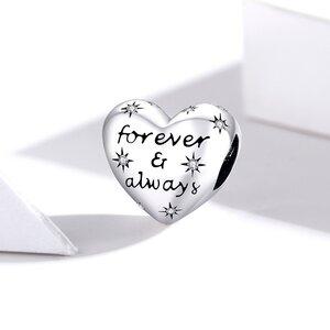 Talisman din argint Forever & Always Silver