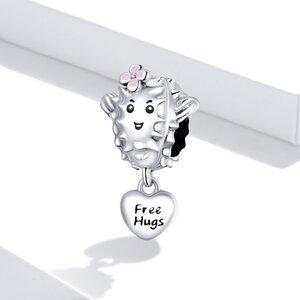 Talisman din argint Free Hugs