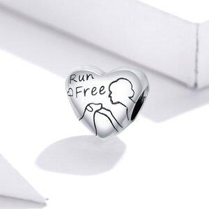 Talisman din argint Free Run