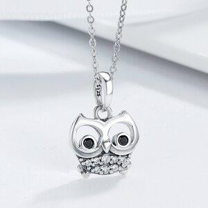 Talisman din argint Funny Owl Eyes