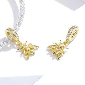 Talisman din argint Golden Bee
