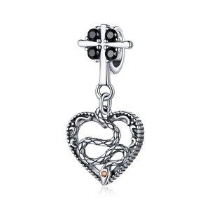 Talisman din argint Gothic Vintage Cross