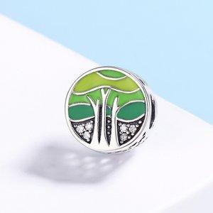Talisman din argint Green Forest