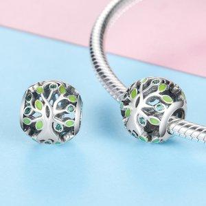 Talisman din argint Green Trees