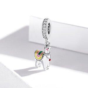 Talisman din argint Happy Alpaca