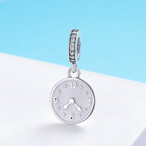 Talisman din argint Happy Clock