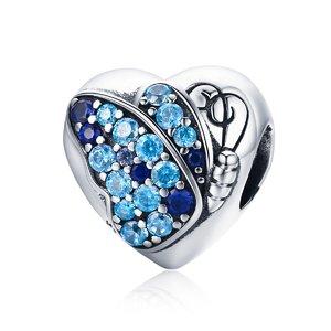 Talisman din argint Beautifull Butterfly