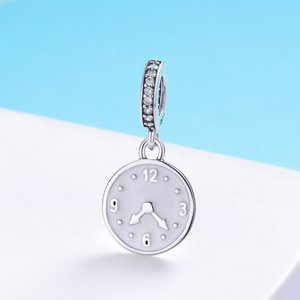 Talisman din argint Happy Clock