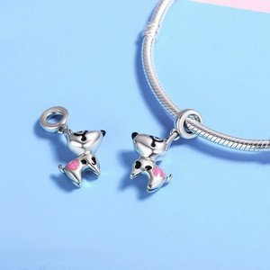 Talisman din argint Happy Puppy