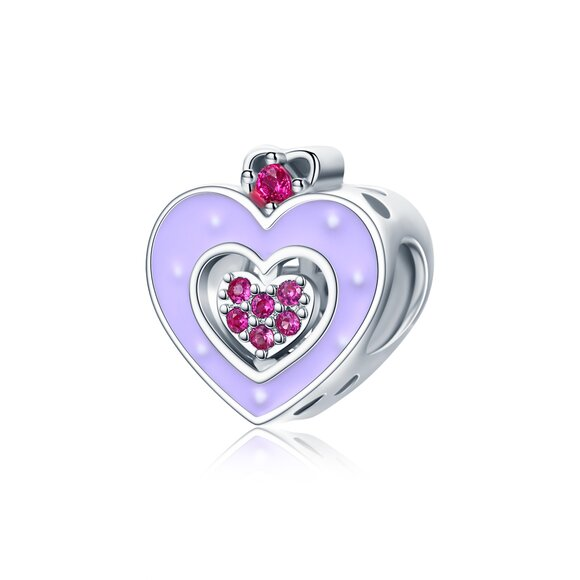 Talisman din argint Heart of a Princess
