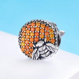 Talisman din argint Honeycomb