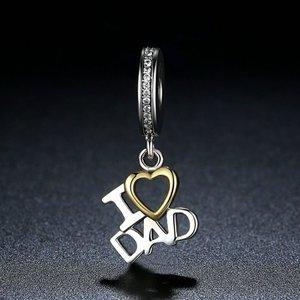 Talisman din argint I Love Dad