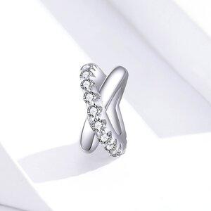 Talisman din argint Impletit cu Cristale