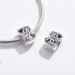 Talisman din argint In Love with Letter B