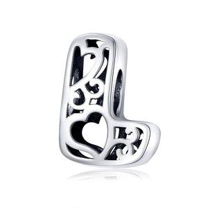 Talisman din argint In Love with Letter L