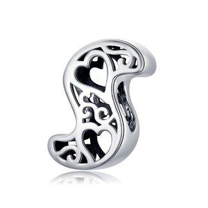 Talisman din argint In Love with Letter S