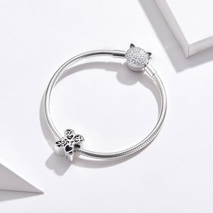Talisman din argint In Love with Letter X