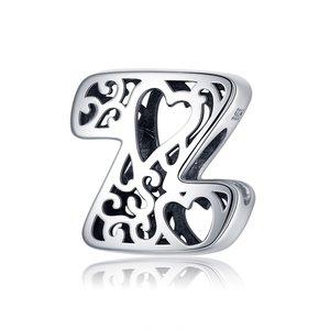 Talisman din argint In Love with Letter Z
