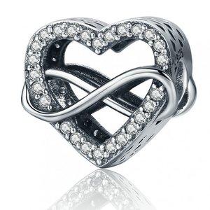 Talisman din argint Infinity Love