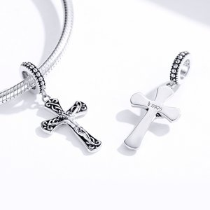 Talisman din argint Jesus Cross Charm