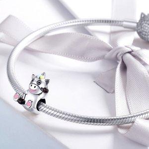 Talisman din argint Joyful Licorne