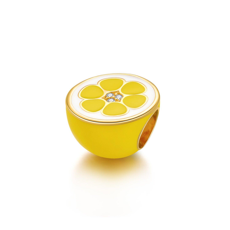 Talisman din argint Lemon poza 2021