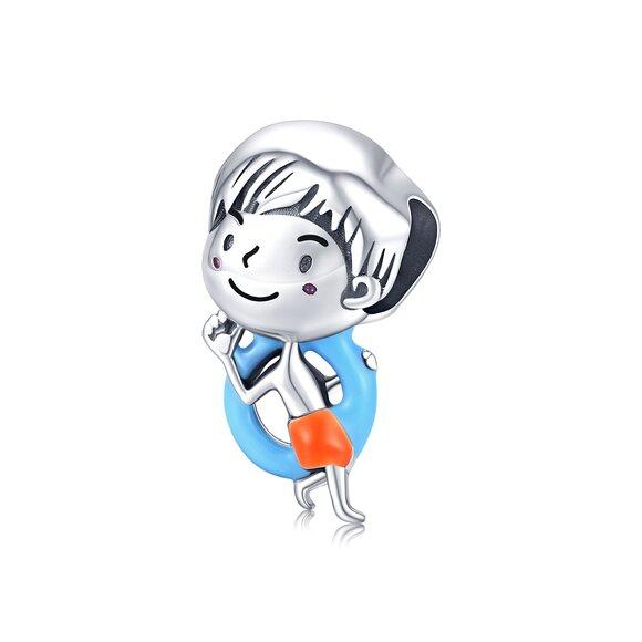 Talisman din argint Lifeguard Boy