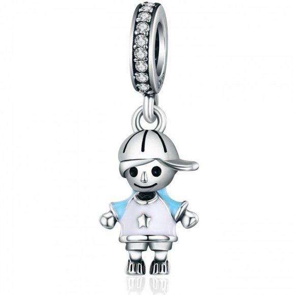 Talisman din argint Little Boy