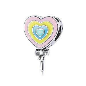 Talisman din argint Lollipop Heart