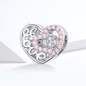 Talisman din argint Love in my Heart