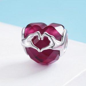 Talisman din argint Love Symbol