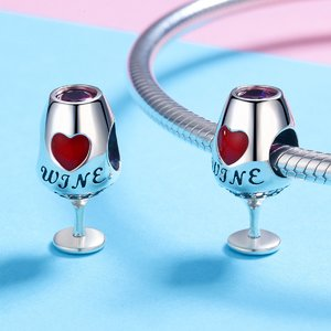 Talisman din argint Love Wine