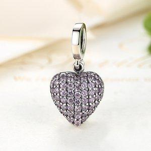 Talisman din argint Lovely Locket Heart