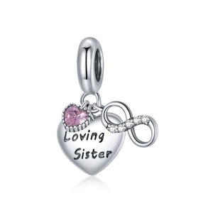 Talisman din argint Loving Sister