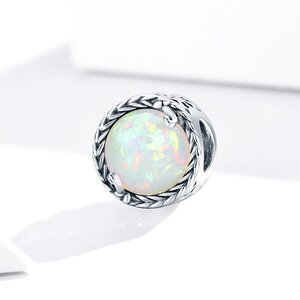 Talisman din argint Magic Opal