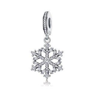 Talisman din argint Magic Snowflake