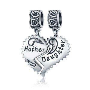 Talisman din argint Mama si Fiica