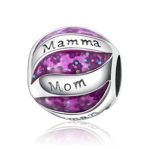 Talisman din argint Mamma Mom