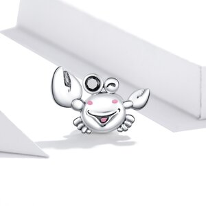 Talisman din argint Mister Crab