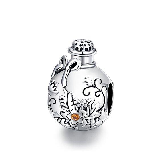 Talisman din argint Nature Bottle