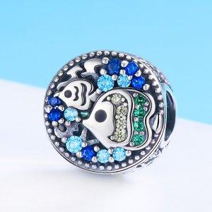 Talisman din argint Ocean's Fish