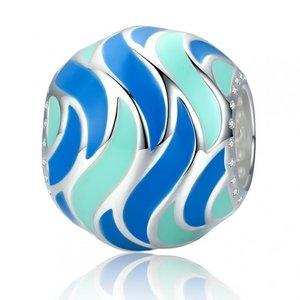 Talisman din argint Ocean Wave