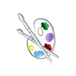 Talisman din argint Painting Tools