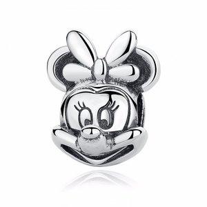 Talisman din argint patinat cu Minnie Mouse