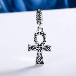 Talisman din argint patinat Faith Symbol