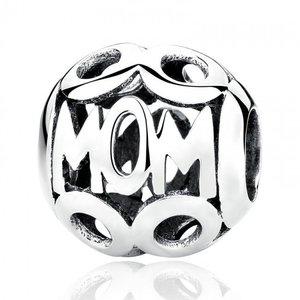 Talisman din argint patinat Silver Mom