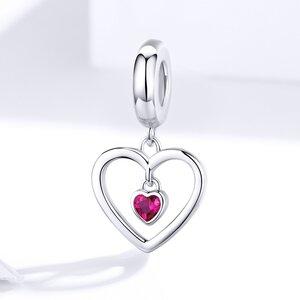 Talisman din argint Pendant Heart Charm